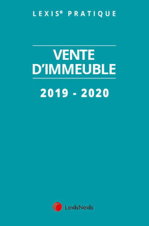 Vente d'immeuble : 2019-2020