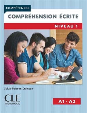 Compréhension écrite : niveau 1, A1-A2