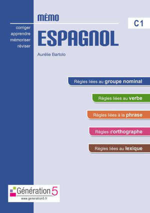 Mémo espagnol C1