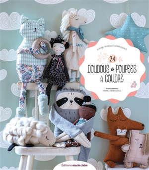 24 doudous & poupées à coudre