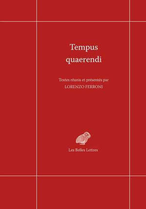 Tempus quaerendi : nouvelles expériences philologiques dans le domaine de la pensée de l'Antiquité tardive