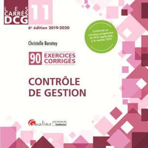 Contrôle de gestion : 92 exercices corrigés