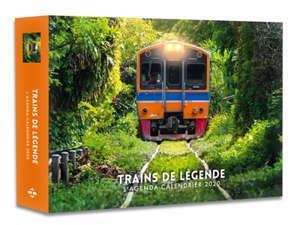 Trains de légende : l'agenda-calendrier 2020
