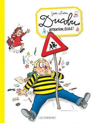 L'élève Ducobu. Volume 24, Attention, école !