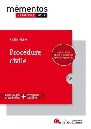 Procédure civile : 2019-2020