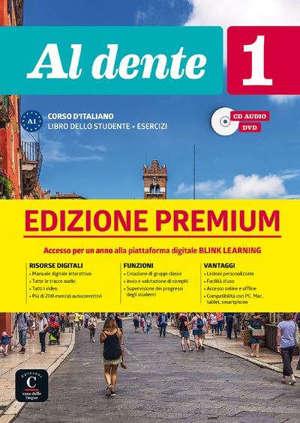Al dente 1 : corso d'italiano A1 : libro dello studente + esercizi, CD audio, DVD