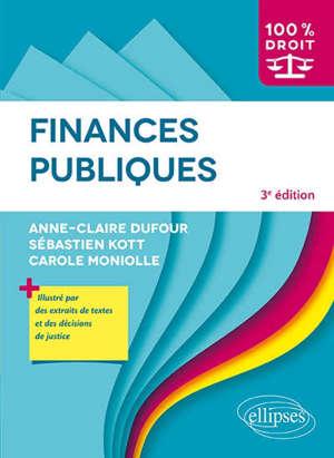 Finances publiques : cours, méthodologie, exercices corrigés