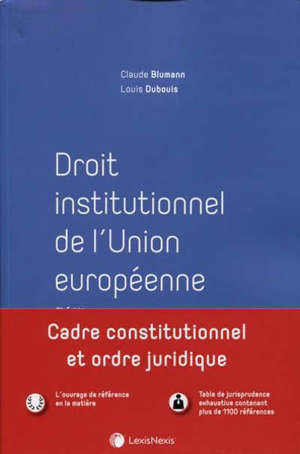 Droit institutionnel de l'Union européenne