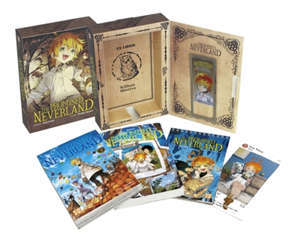 Coffret the promised neverland : tome 9 + roman