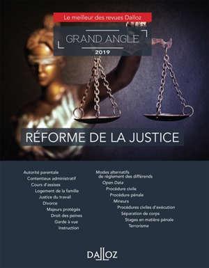 Réforme de la justice