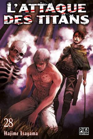 L'attaque des titans. Volume 28