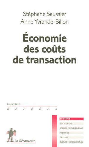 Economie des coûts de transaction