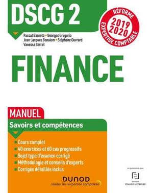 DSCG 2, finance : manuel : réforme expertise comptable 2019-2020