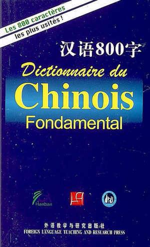 Dictionnaire du chinois fondamental