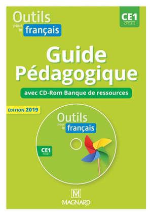 Outils pour le français, CE2, cycle 2 : guide pédagogique avec CD-Rom, banque de ressources