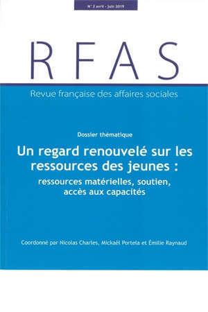 UN REGARD RENOUVELE SUR LES RESSOURCES DES JEUNES : RESSOURCES MATERIELLES, SOUT