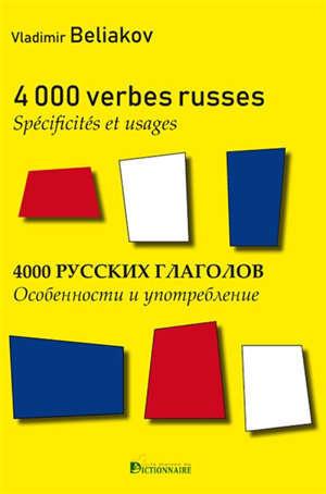 4.000 verbes russes : spécificités & usages
