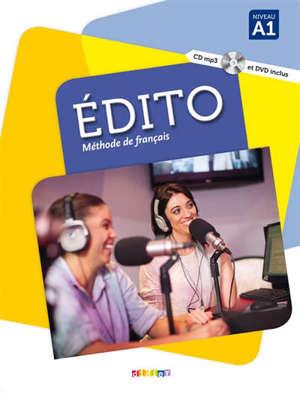 Edito, méthode de français, niveau A1
