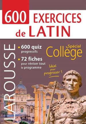 800 EXERCICES DE LATIN