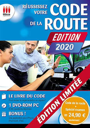 Pack Réussissez votre code de la route + Code de la route spécial examen