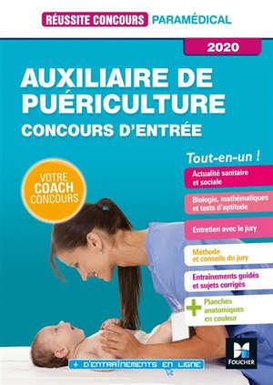 Auxiliaire de puériculture : concours d'entrée 2020 : tout-en-un !