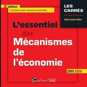 L'essentiel des mécanismes de l'économie : 2019-2020