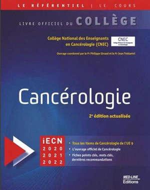 Cancérologie : iECN 2020-2021-2022
