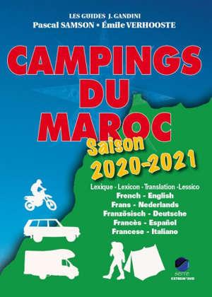 Campings du Maroc : saison 2020-2021