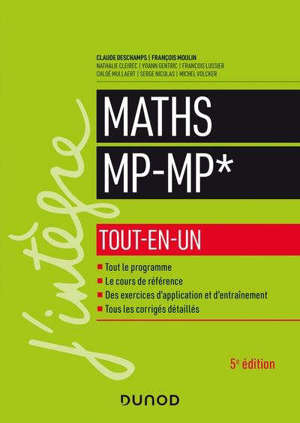 Maths MP-MP* : tout-en-un