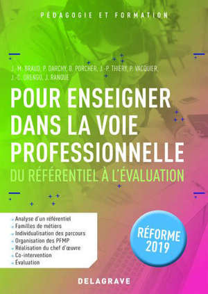 Pour enseigner dans la voie professionnelle : référence