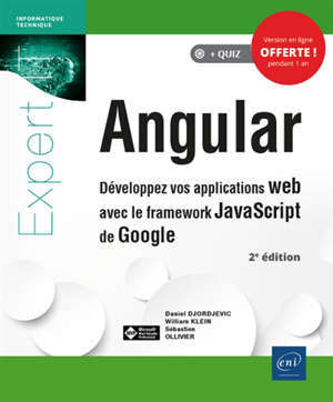 Angular : développez vos applications web avec le framework Javascript de Google