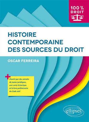 Histoire contemporaine des sources du droit