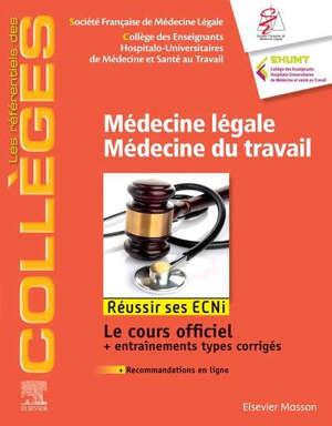 Médecine légale, médecine du travail : réussir ses ECNi
