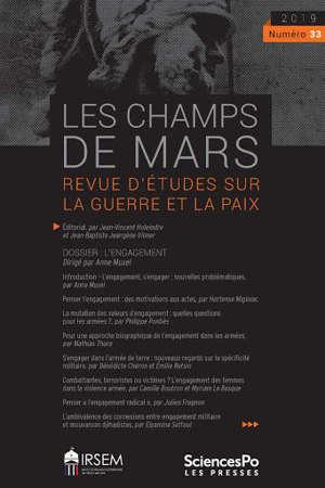 Champs de Mars (Les). n° 33, L'engagement