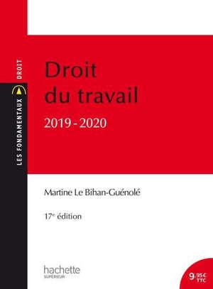 Droit du travail : 2019-2020