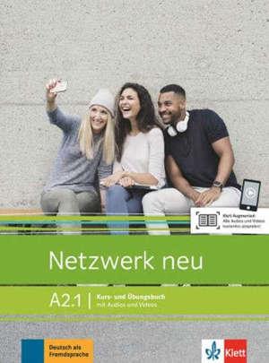 Netzwerk neu A2.1 : livre + cahier