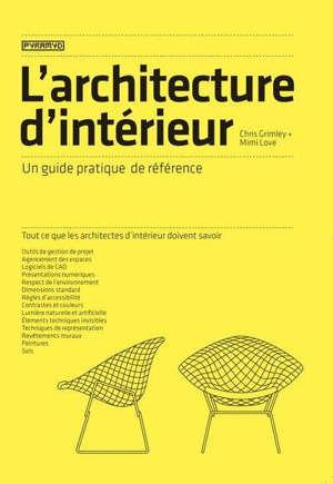 L'architecture d'intérieur : un guide pratique de référence