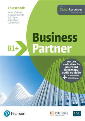 Business partner B1+ : coursebook