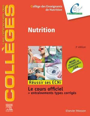 Nutrition : réussir ses ECNi