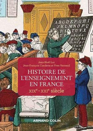 Histoire de l'enseignement en France : XIXe-XXIe siècle