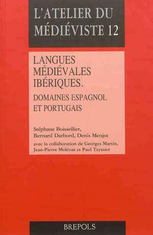 Langues médiévales ibériques : domaines espagnol et portugais