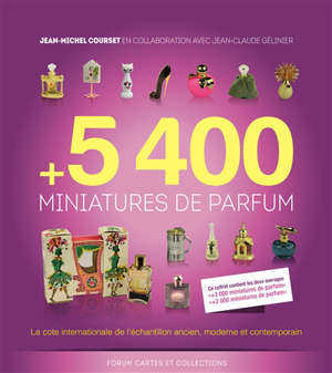 5.400 miniatures de parfum : la cote internationale de l'échantillon ancien, moderne et contemporain