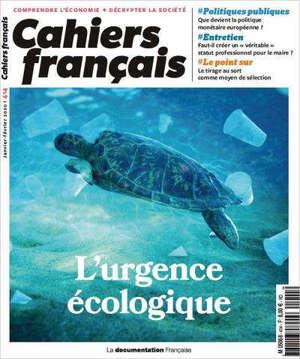 Cahiers français. n° 414, L'urgence écologique
