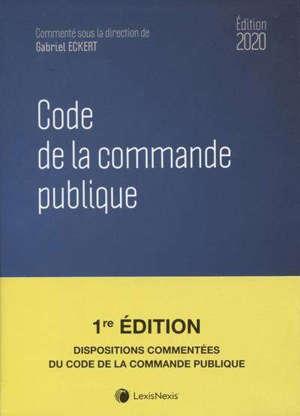 Code de la commande publique 2020