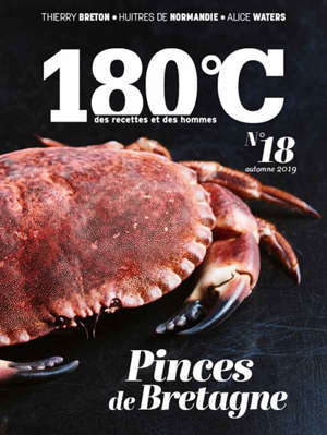 180 °C : des recettes et des hommes. n° 18, Pinces de Bretagne