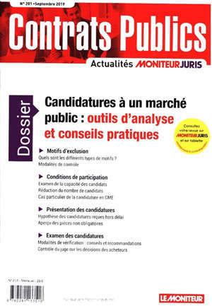Contrats publics, l'actualité de la commande et des contrats publics. n° 201