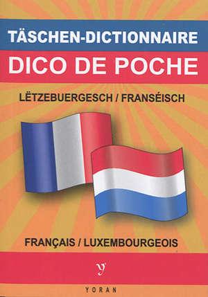 DICO DE POCHE BILINGUE LUXEMBOURGEOIS - FRANCAIS