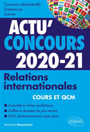 Relations internationales, 2020-2021 : concours administratifs, Sciences Po, licence
