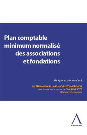 Plan comptable minimum normalisé des associations et fondations