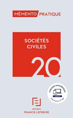 Sociétés civiles 2020